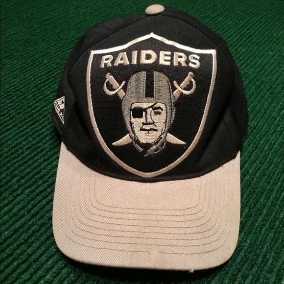 9c2a41c69 🔥VINTAGE Raiders cap hat RARE Patch logo NFL
